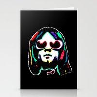 kurt rahn Stationery Cards featuring Kurt   by Butt Ugly Co