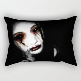 Angel of Loss Rectangular Pillow