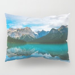 The Mountains and Blue Water - Nature Photography Pillow Sham
