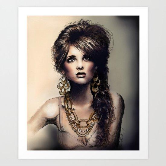 Haute Jewel Art Print