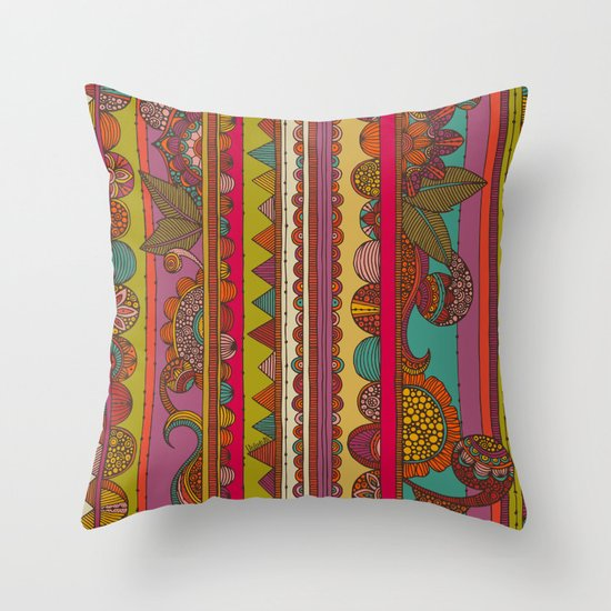 Oxaca Throw Pillow