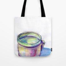 Pink Cup Tote Bag