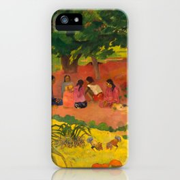 "Paul Gauguin ""Taperaa Mahana (Late Afternoon)"" iPhone Case"