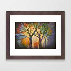 Sounds of the Forest Framed Art Print