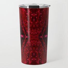 Red Hour Glass Travel Mug