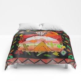 Southwest Sunset Comforters