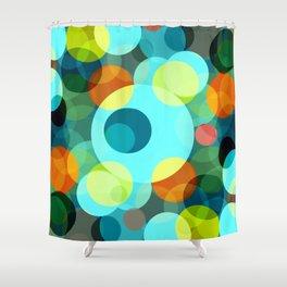 Bubble Party Shower Curtain