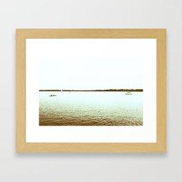 Minnesota: Lake Calhoun Framed Art Print