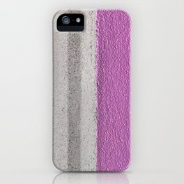 Pink To Gray Pattern iPhone Case