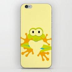 Minimal Tree Frog iPhone & iPod Skin
