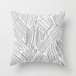 messy Throw Pillow