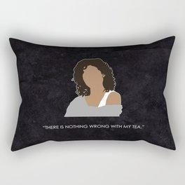 Being Human - Annie Sawyer Rectangular Pillow