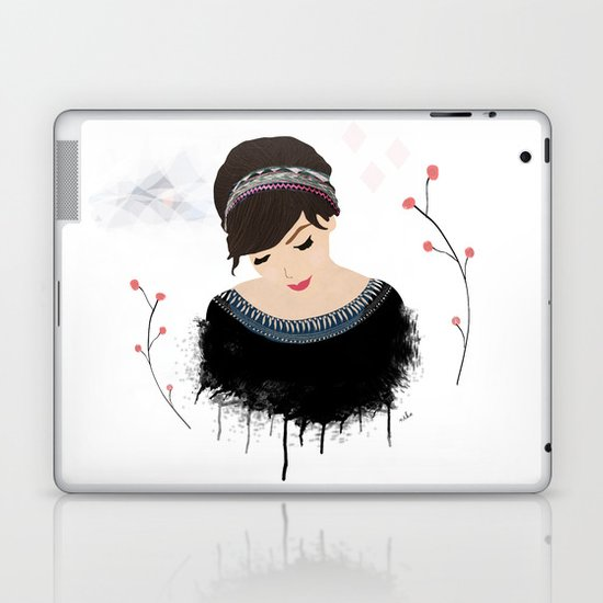 ONE SWEET GIRL Laptop & iPad Skin