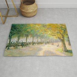 Camille Pissarro - Hyde Park Rug