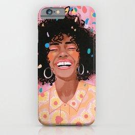 Confetti queen iPhone Case