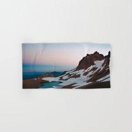 Alpine Lake Moonrise Hand & Bath Towel
