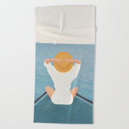 Summer Vacation I Beach Towel