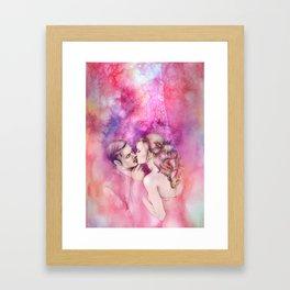 Bisou Framed Art Print
