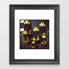 ninjas Framed Art Print