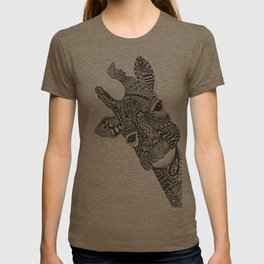 Zentangle Giraffe T-shirt