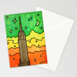 Empire State Building in NYC Stationery Cards
