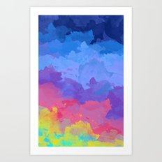 Color Splash Art Print