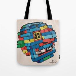 Blue Ghoul Tote Bag