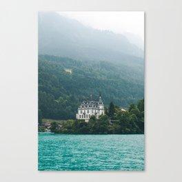 Iseltwald Switzerland Canvas Print