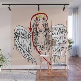 Good Vs Evil Wall Mural