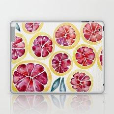 Sliced Grapefruits Watercolor Laptop & iPad Skin