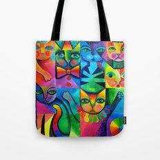Clown Cats Tote Bag