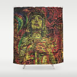Glory - The Interdimensional Intruder Shower Curtain
