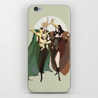 loki iPhone & iPod Skins featuring loki by imponderabilia