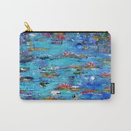 Water Lilies no. 1 Carry-All Pouch
