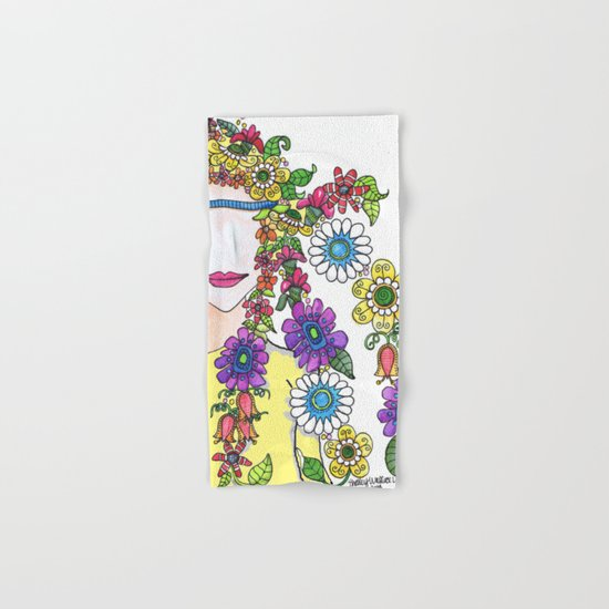 Eighties Girl Hand & Bath Towel