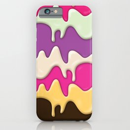 Melting Ice Cream iPhone Case