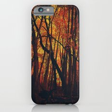 Fall on Fire iPhone 6s Slim Case