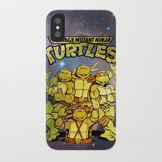 Teenage Mutant Ninja Turtles Iphone  Case