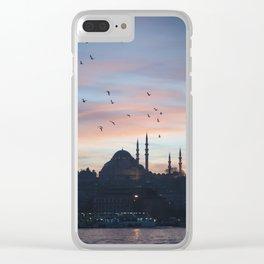 Golden Horn Clear iPhone Case