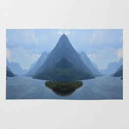 Mirrored Landscape Rug