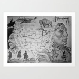 Native America Art Print