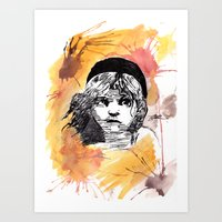 les miserables Art Prints featuring Les Miserables by Taylor Starnes