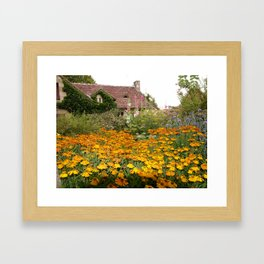 Apremont-sur-Allier Village Cottage Framed Art Print
