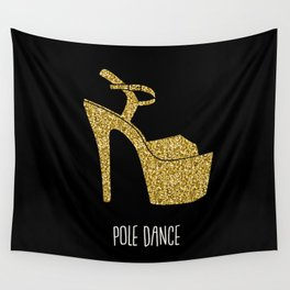Gold dreams Wall Tapestry
