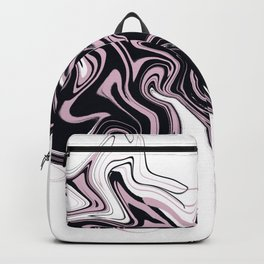 Very beautiful marble texture. Abstract bright hand painted background. Backpack
