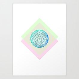 organic boule Art Print