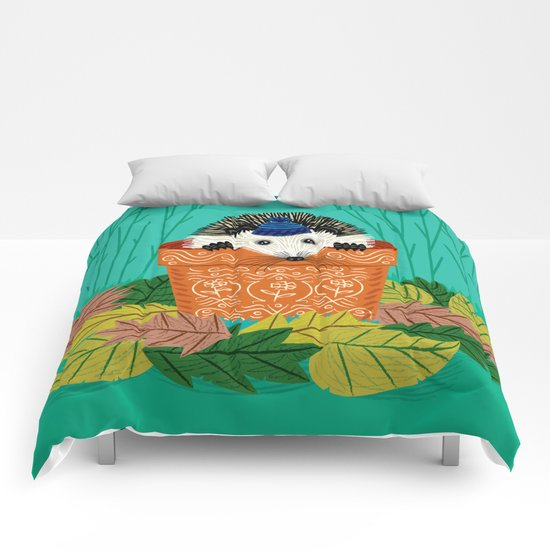 A Hedgehog's Home Comforters
