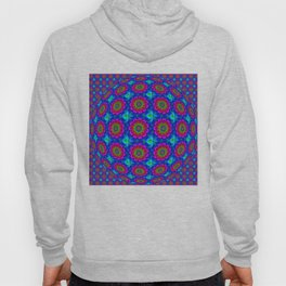 Flower  rainbow-colored Hoody