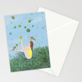 Morning Stretch Stationery Cards