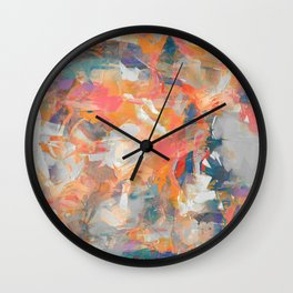 The Crazy Cyclist Wall Clock